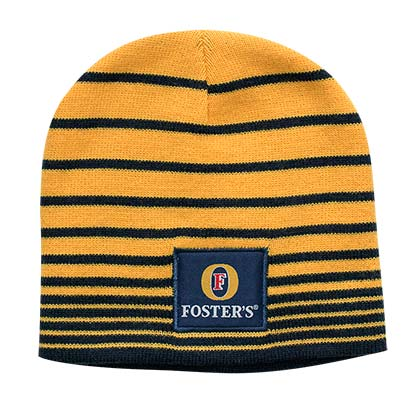 Fosters Yellow Knit Beanie