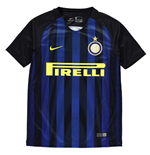 2016-2017 Inter Milan Home Nike Football Shirt (Kids)