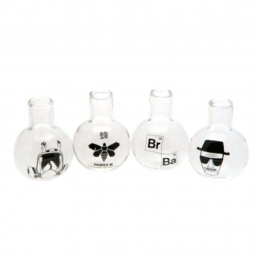 Breaking Bad 4pk Shot Glass Set
