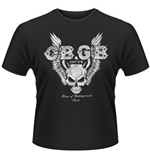 Cbgb T-shirt Skull Wings