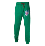 NINTENDO Legend of Zelda Men's Master Sword and Hylian Shield Lounge Pant, Large, Green
