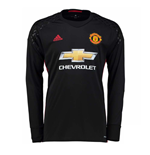 2016-2017 Man Utd Adidas Home Goalkeeper Shirt (Kids)