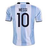 2016-17 Argentina Home Shirt (Messi 10) - Kids