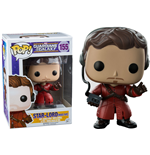 Guardians of the Galaxy POP! Vinyl Bobble-Head Star-Lord (Mixed Tape) 10 cm