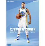 NBA Collection Motion Masterpiece Actionfigur 1/9 Stephen Curry 23 cm