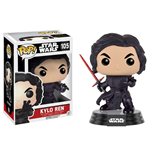 Star Wars Episode VII POP! Vinyl Bobble-Head Figure Kylo Ren (Battle Pose) 9 cm
