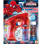 Spiderman Dulcop Bubble World - Bubble Gun with Lights - 1 Piece 60 ml.