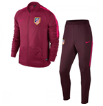 2016-2017 Atletico Madrid Nike Knit Tracksuit (Noble Red) - Kids