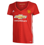 2016-2017 Man Utd Adidas Womens Home Shirt