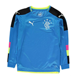2016-2017 Rangers Puma Away Goalkeeper Shirt (Blue) - Kids