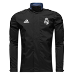 2016-2017 Real Madrid Adidas Travel Jacket (Black)