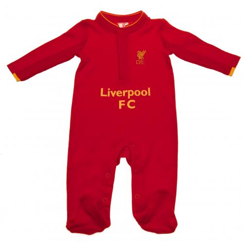 Liverpool F.C. Sleepsuit 0/3 mths GD
