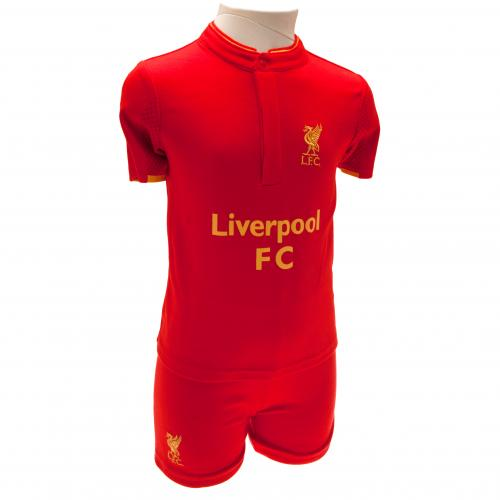 Liverpool F.C. Shirt & Short Set 2/3 yrs GD