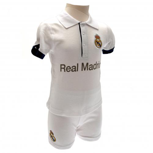 Real Madrid F.C. Shirt & Short Set 9/12 mths PL