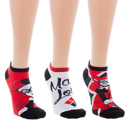 HARLEY QUINN Ankle Socks Set