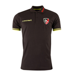 2016-2017 Leicester Tigers Cotton Polo Shirt (Black)