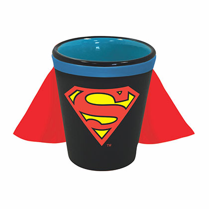 SUPERMAN Caped Shot Glass