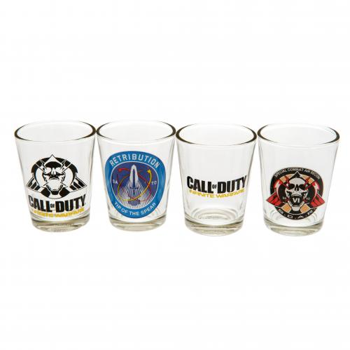 Call Of Duty 4pk Shot Glass Set Infinite Warfare