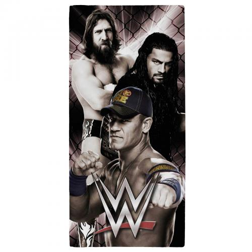 Wwe bathroom accessories official merchandise 2016 17 for Wwe bathroom set