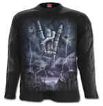 Rock Eternal - Longsleeve T-Shirt Black