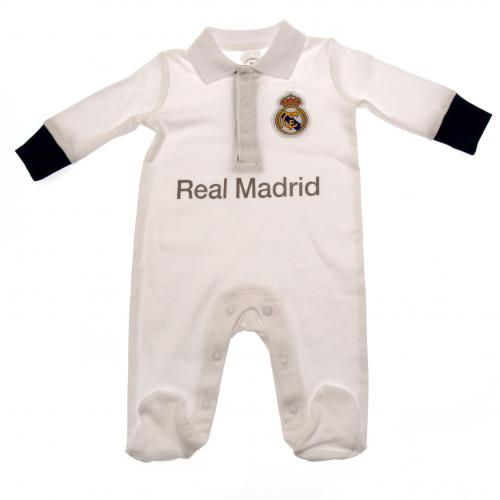 Real Madrid F.C. Sleepsuit 0/3 mths PL