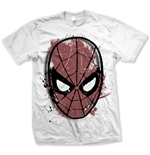 Marvel Comics T-Shirt Spidey Big Head Distressed