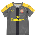 2016-2017 Arsenal Puma Training Jersey (Grey) - Kids