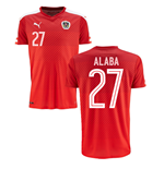 2016-2017 Austria Home Shirt (Alaba 27) - Kids