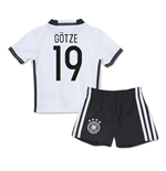 2016-2017 Germany Home Mini Kit (Gotze 19)