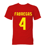 Barcelona Cesc Fabregas Hero T-Shirt (Red)
