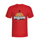 Belgium Country Logo T-shirt (red)