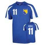 Bosnia Sports Training Jersey (dzeko 11) - Kids