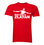 Zlatan Ibrahimovic Welcome to Manchester T-shirt (Red) - Kids