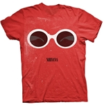 Nirvana T-shirt Red Sunglasses