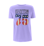 Led Zeppelin T-shirt North America 75' Orchid