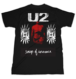 U2 T-shirt Songs Of Innocence Red Shade