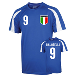 Italy Sports Training Jersey (balotelli 9)