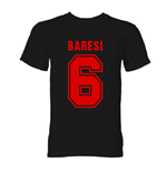 Franco Baresi AC Milan Hero T-Shirt (Black)