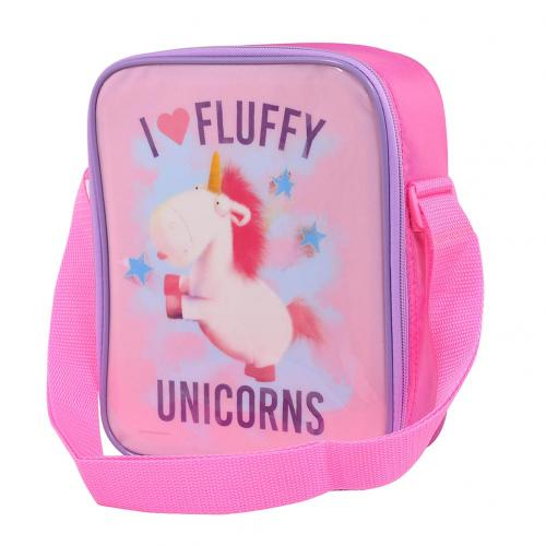 Despicable Me Lunch Bag Fluffy Unicorn