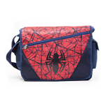 MARVEL COMICS Ultimate Spider-man Messenger Bag with Web & Logo Motif