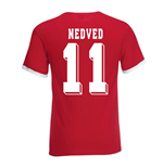 Pavel Nedved Czech Republic Ringer Tee (red)