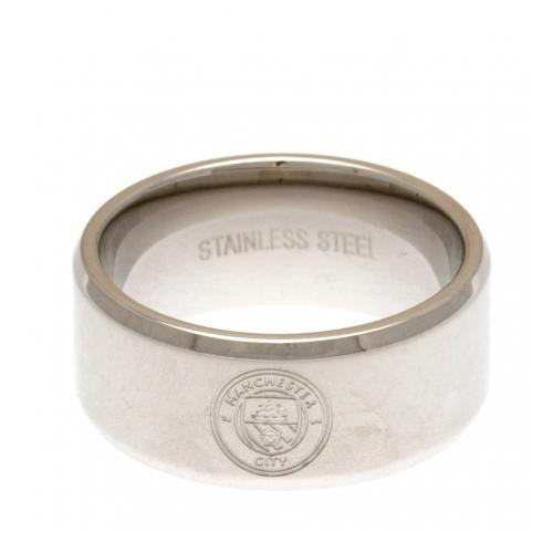 Manchester City F.C. Band Ring Small