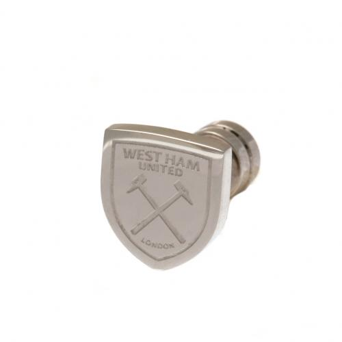 West Ham United F.C. Cut Out Stud Earring