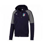 Italy 2006 Tribute Zip Through Hoody (Peacot-Grey) - Kids