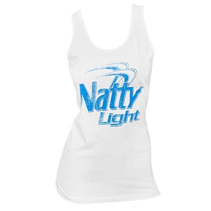 Women's Natty Light White Tank Top