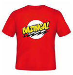 Big Bang Theory T-shirt  - Bazinga Red