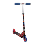 DC COMICS Justice League 2 Wheel Inline Scooter with Adjustable Handlebar