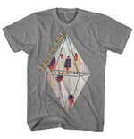 Arcade Fire T-shirt Grey Diamond