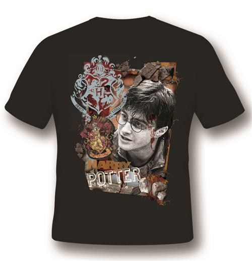 Harry Potter T-shirt Titillandus Black