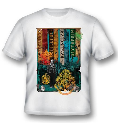 Harry Potter T-shirt Houses